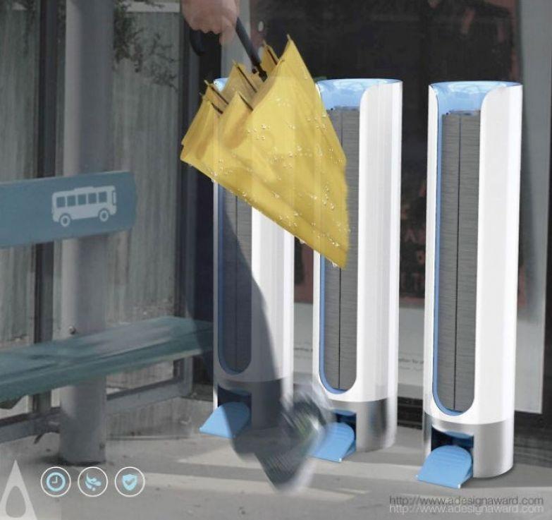 Сушители для зонтов на остановке от National Taipei University of Technology