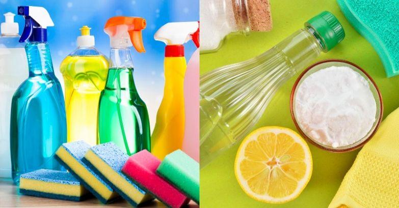 моющие и чистящие средства химия