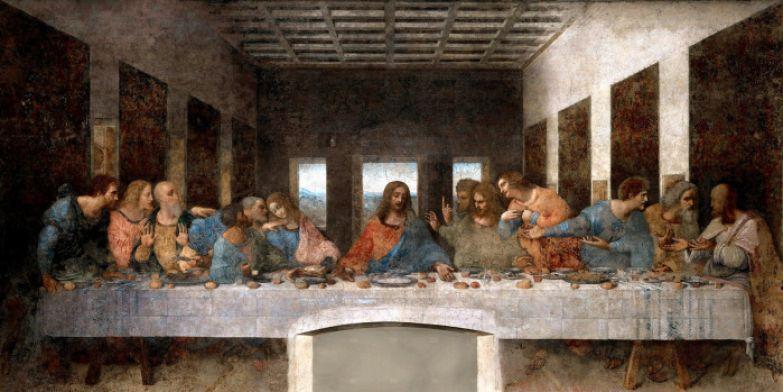 Леонардо да Винчи - Тайная вечеря (1498)