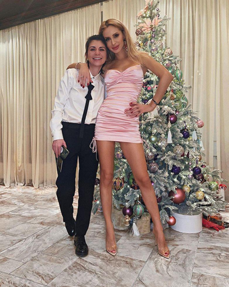 Нателла Крапивина и Светлана Лобода