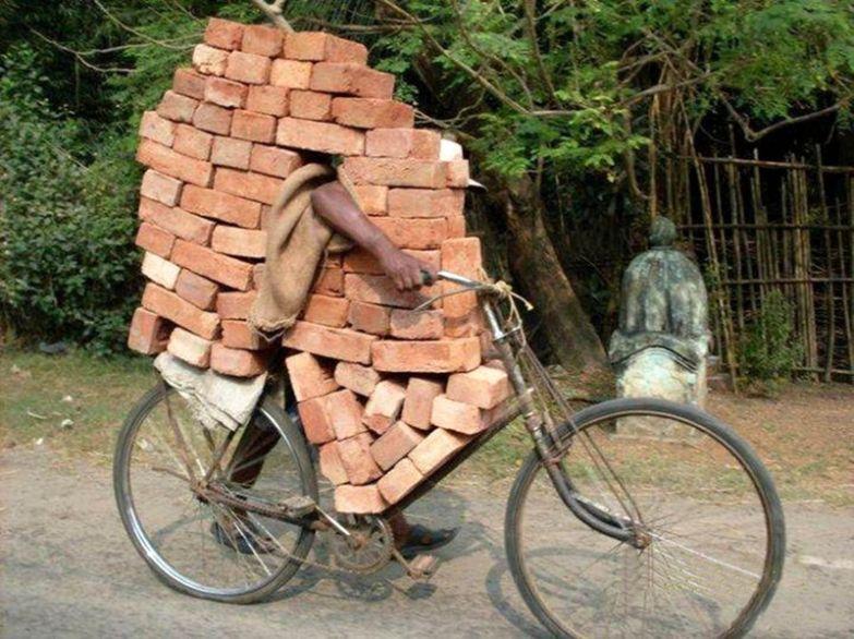 Когда после развода достался велосипед и часть дома прикол, развод, юмор
