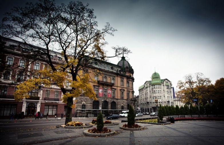 Осень во Львове.