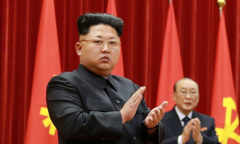 Модный Ким Чен Ын. Интересно, а в списке разрешенных причесок, есть его? политики, прически, смешно, удивительно
