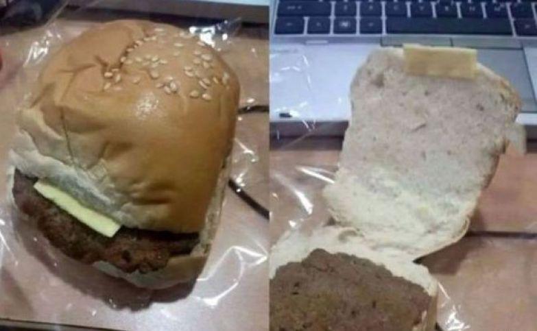Если гамбургер, то обязательно с сыром ожидание и реальность, прикол, разочарование, юмор