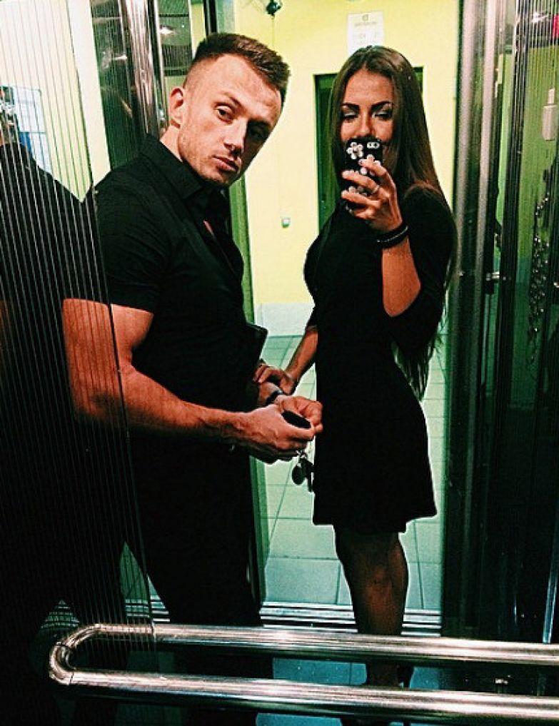 София и Дмитрий в начале своего романа