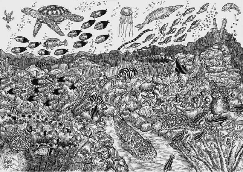 Рисунки 11-летнего вундеркинда