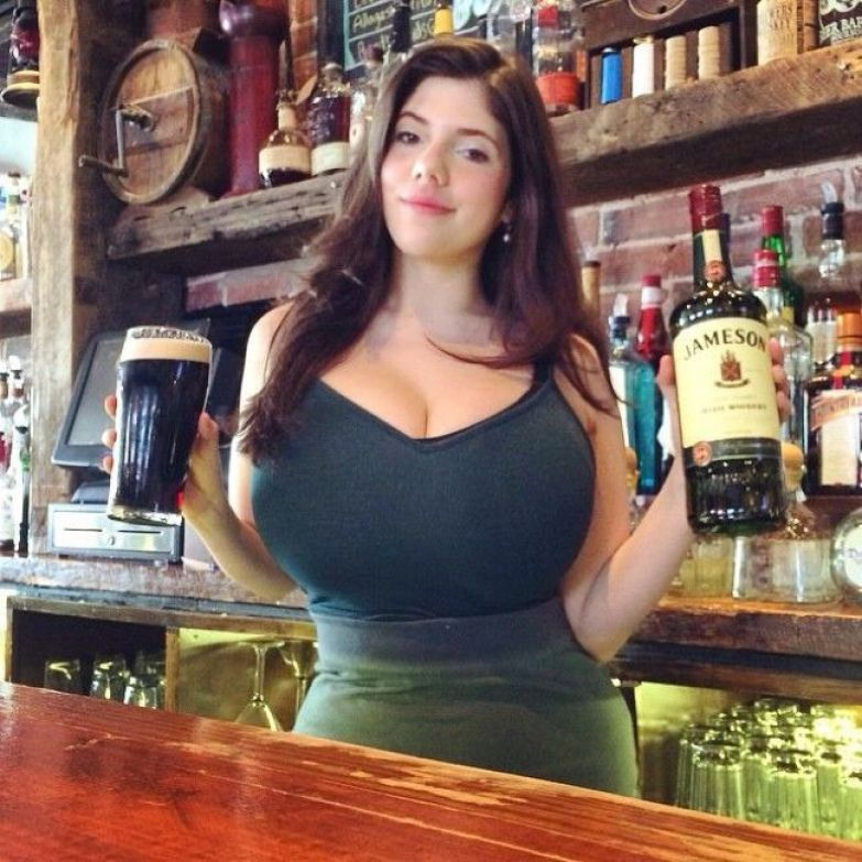 Blond white girls with big boobs