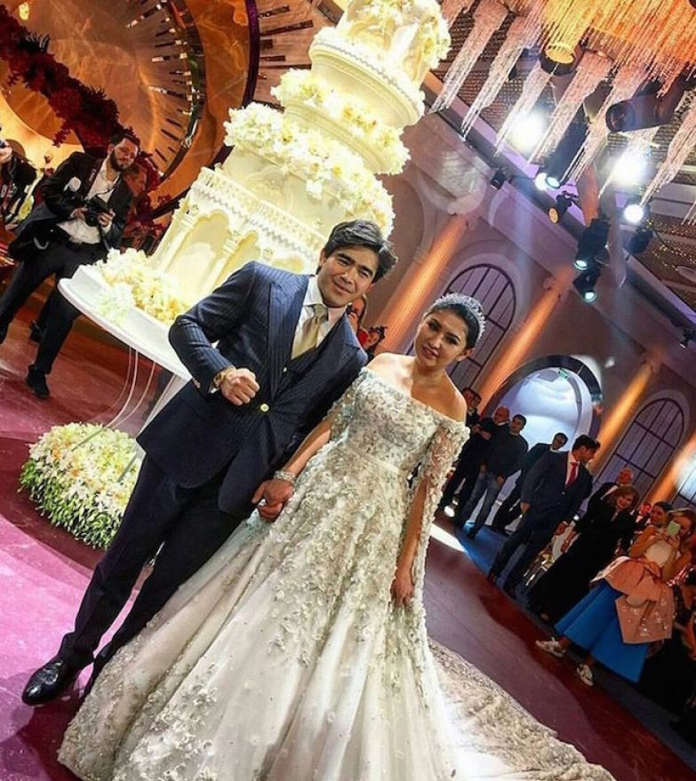 Мадина Шокирова, свадьба