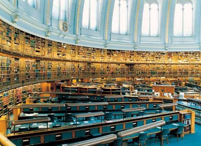 Британская библиотека, Лондон.