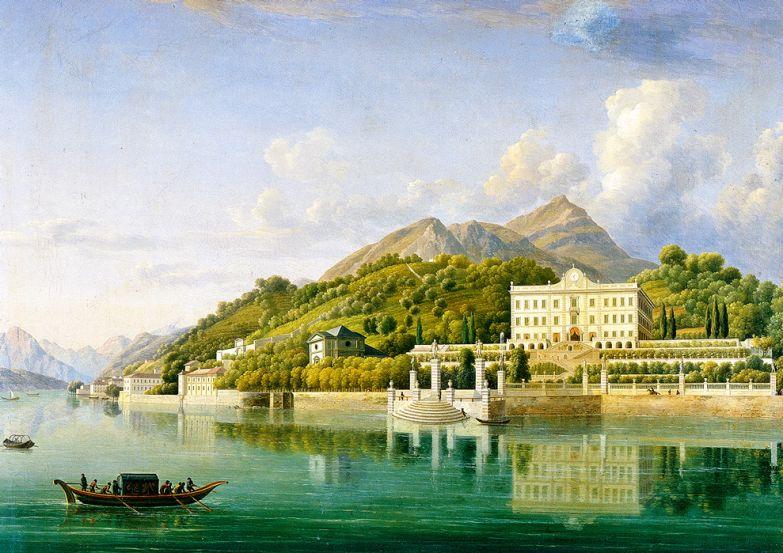 Один из экспонатов коллекции на вилле Карлотта — «Вилла Карлотта», Жан-Жозеф Бидо, 1819