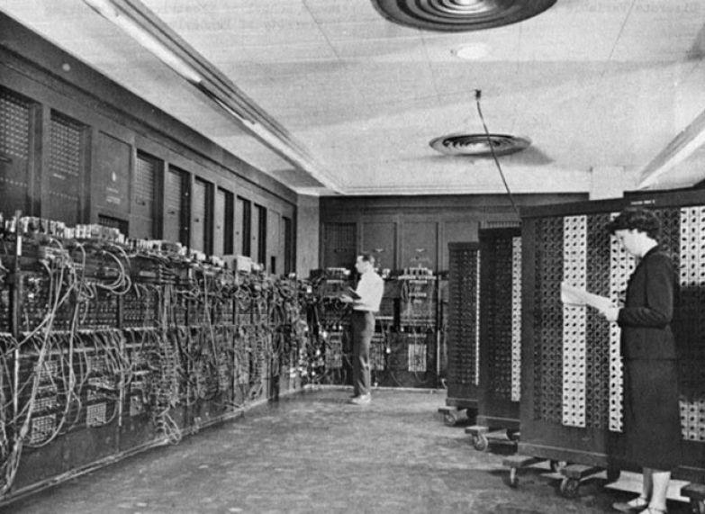Электронный цифровой интегратор и вычислитель, четвёртый компьютер, построенный в истории, 1946 год история, события, фото