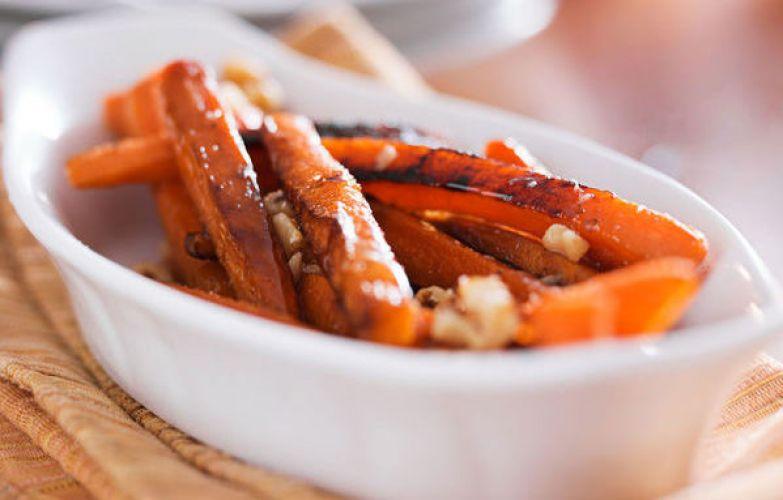 Фото: 12tomatoes. Хрустящая морковка в глазури