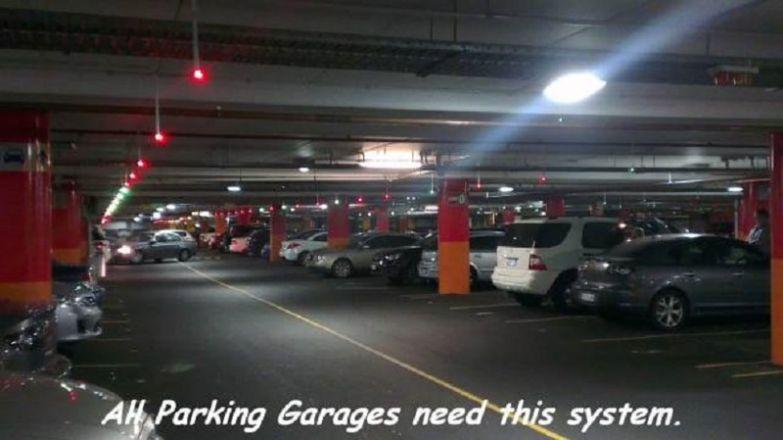 13. На всех парковках должна быть такая система мир, фотография