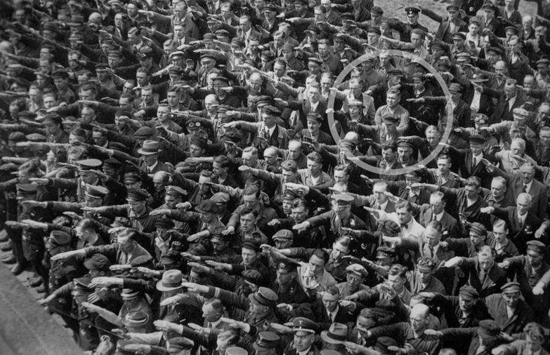 Единственный мужчина, отказавшийся делать нацистский приветственный жест, 1936 год