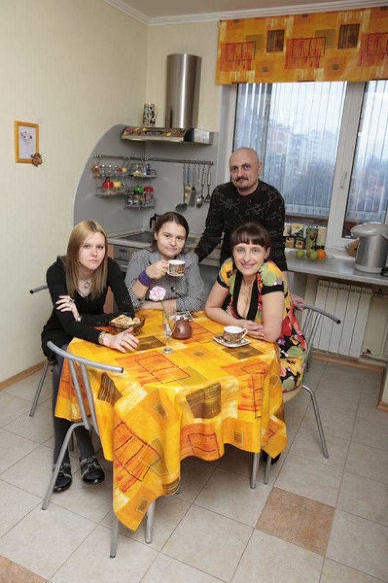 Главным стимулом для борьбы с трудностями для Светланы Рожковой оставалась семья