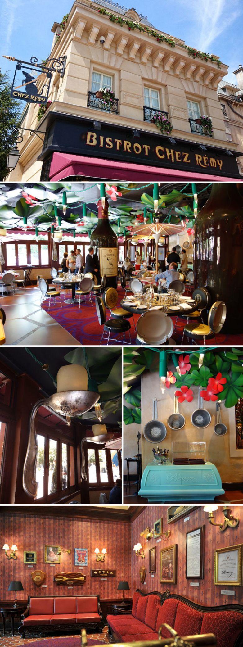 """Ресторан в тематике мультфильма """"Рататуй"""", Bistrot Chez Rémy, Диснейленд, Париж, Франция мир, подборка, ресторан"""
