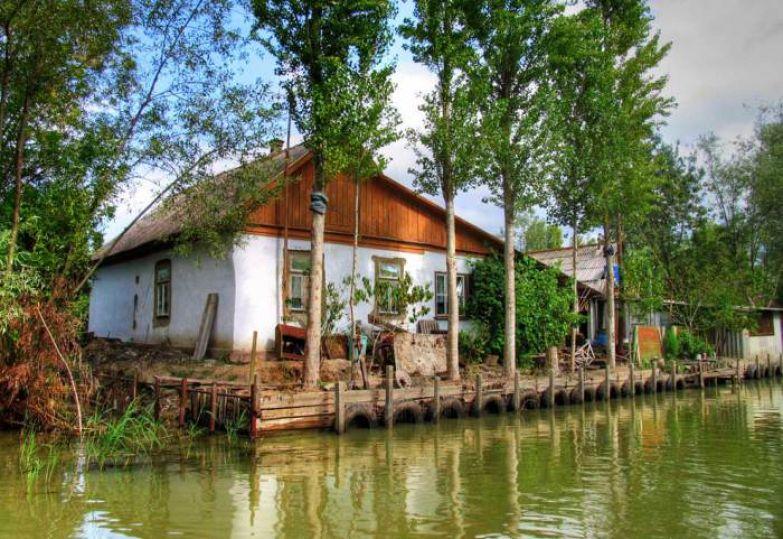Уникальный городок на воде, который является главным выходом в Украинскую Дельту Дуная.