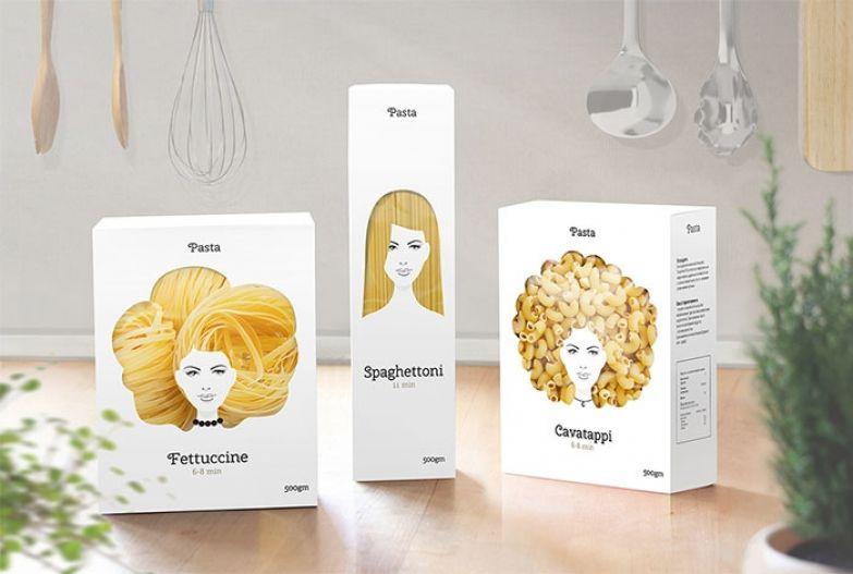 Креативная упаковка для пасы от Никиты Конкина