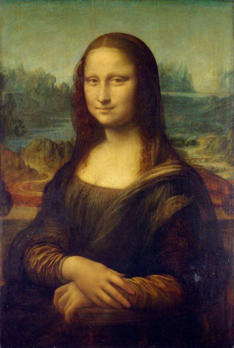Леонардо да Винчи, «Джоконда».