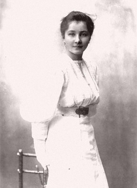 Анна Тимирёва.