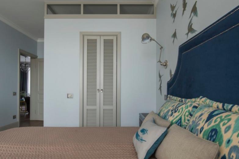 Фотография: Спальня в стиле Кантри, Гардеробная, Советы, Вероника Ковалева, Artbaza.Studio – фото на InMyRoom.ru