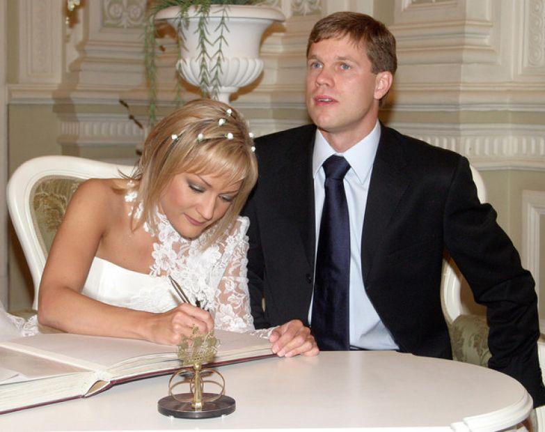 Буланова и Радимов поженились в 2005-м
