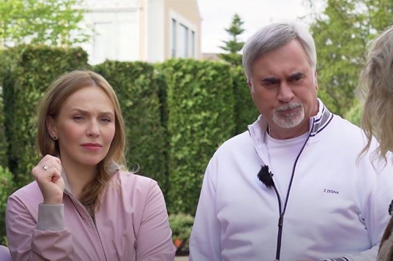 Альбина Джанабаева, Валерий Меладзе и Ксения Собчак