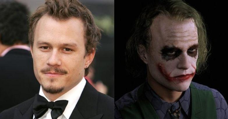 """Хит Леджер - Джокер (""""Темный рыцарь"""") актеры, голливуд, грим, невероятно, роли"""
