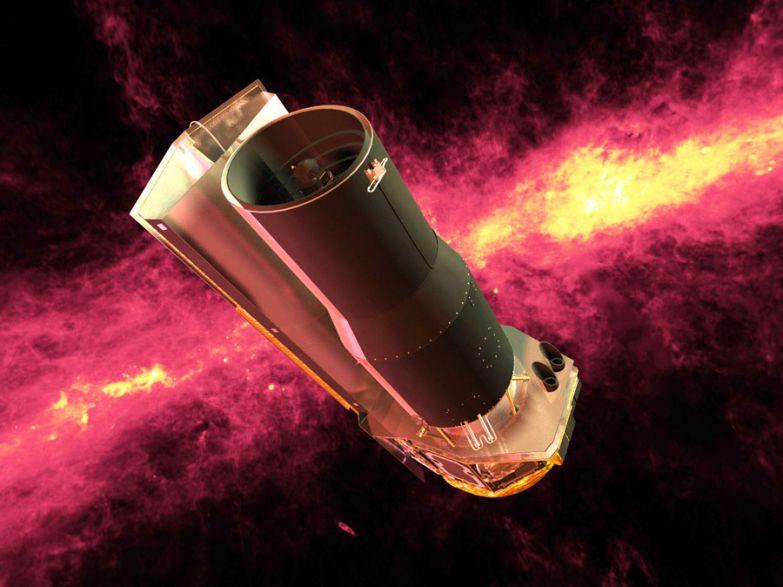 Орбитальный телескоп Spitzer после выработки основного ресурса был приспособлен для поиска экзопланет. Фото: NASA/JPL-Caltech