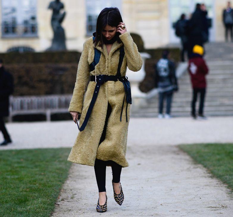 Наташа Гольденберг на Неделе моды в Париже. Фото: Adam Katz Sinding | Le 21ème
