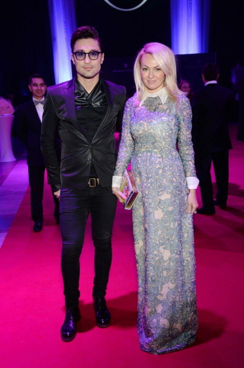 Яна Рудковская целовалась с Димой Биланом