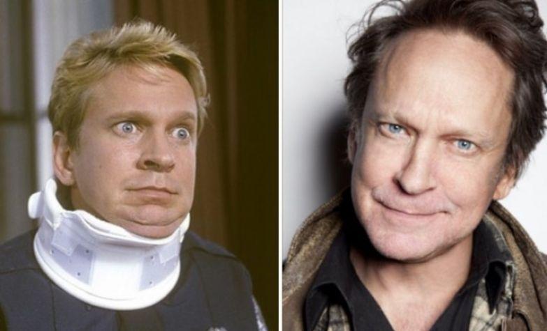 Курсант-подлиза Чед Копленд в исполнении Скотта Томсона актёры, тогда и сейчас