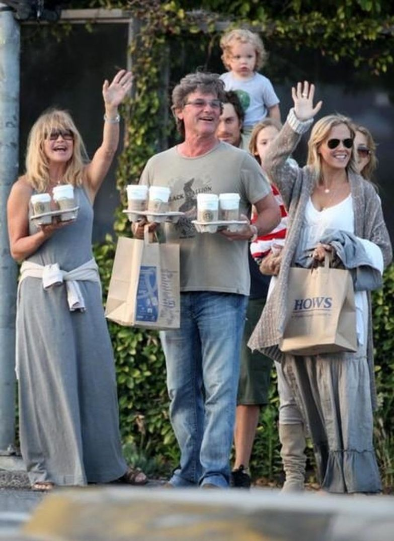 Союз нерушимый: 32 года веселья и любви Курта Рассела и Голди Хоун Курт Рассел, голди хоун, знаменитости