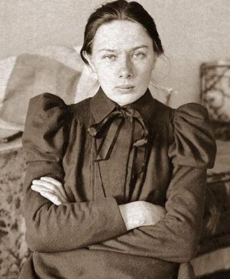 Надежда Крупская - первая красавица партии.