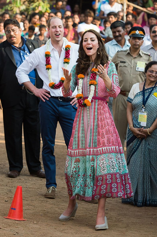 Кейт Миддлтон и принц Уильям, 2016