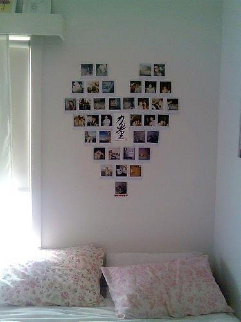 Украшение стены комнаты