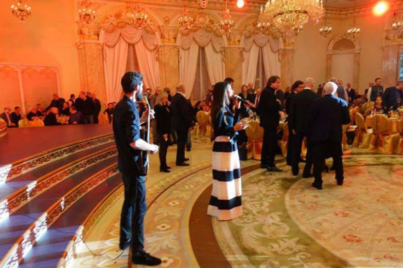 Поминки прошли в одном из самых дорогих банкетных залов Москвы