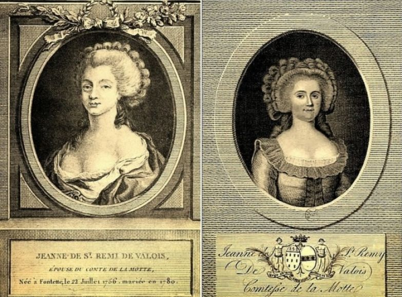 Графиня де ла Мотт, прототип Миледи