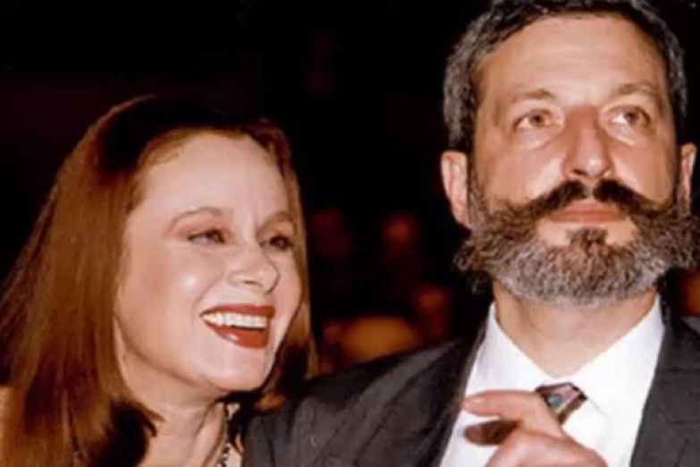 Любовь Полищук и ее муж художник Сергей Цигаль