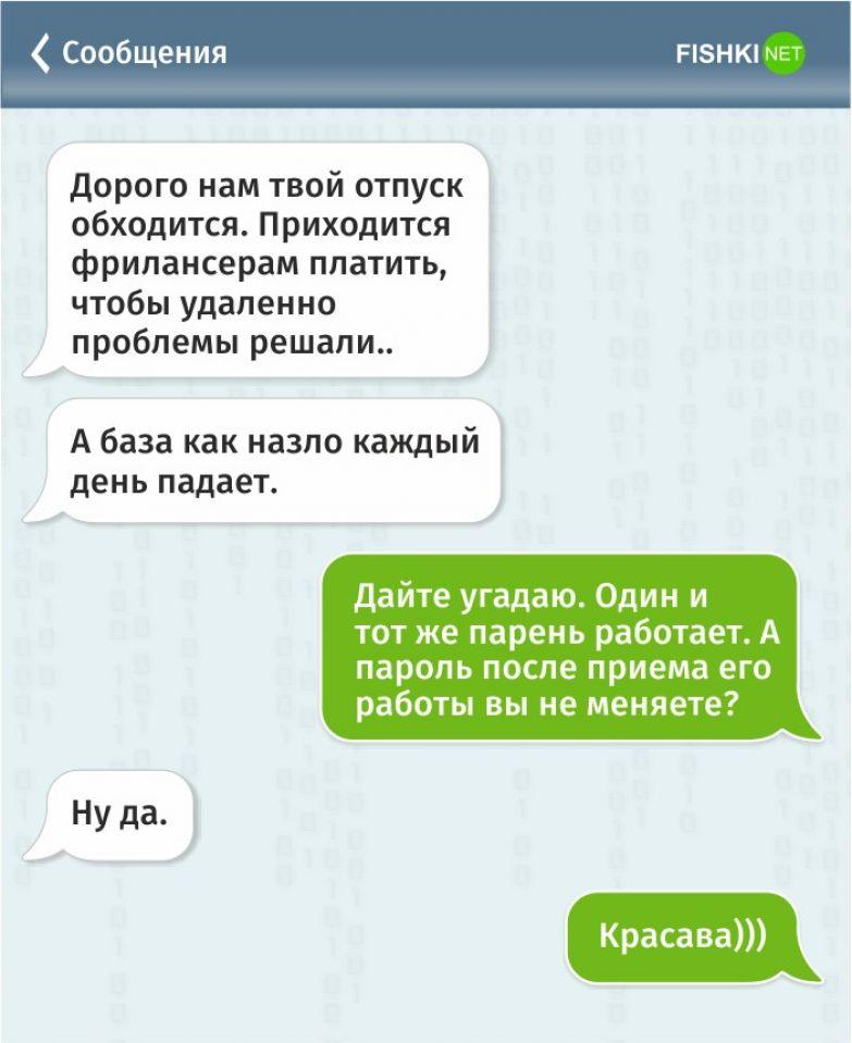 Жизнь программиста в забавных СМС программист, смс, юмор