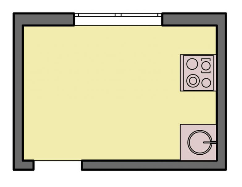 Фотография: Прочее в стиле , Кухня и столовая, Интерьер комнат, Перепланировка, kuhnya-8-kv-metrov, П-111М, И-79-99, П44т – фото на InMyRoom.ru