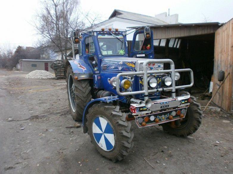 Сельский шик. Тракторы, автобусы, автомобили, грузовики, тюнинг