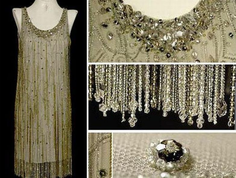 Платье, украшенное кристаллами Сваровски | Фото: livemaster.ru