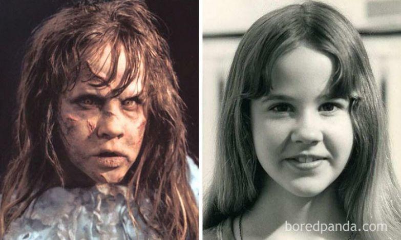 Реган Макнейл - Линда Блэйр (Изгоняющий дьявола, 1973) актеры, монстры, ужастики