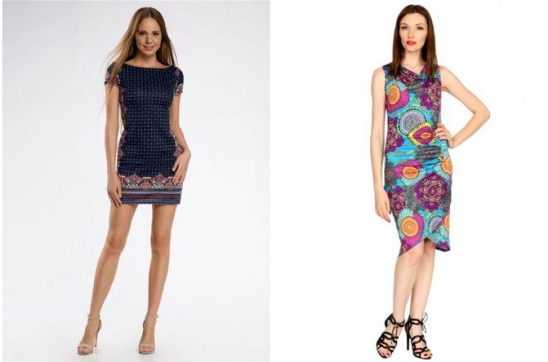 модели летних повседневных платьев 2018