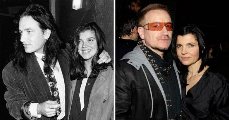 Боно и Элисон Хьюсон - 34 года вместе голливуд, звезды, любовь, свадьбы, семьи