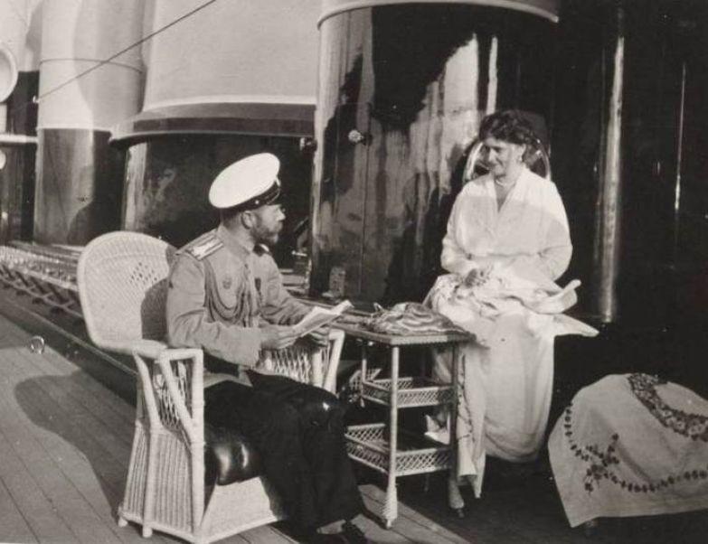 Императорская чета на яхте *Штандарт* | Фото: liveinternet.ru