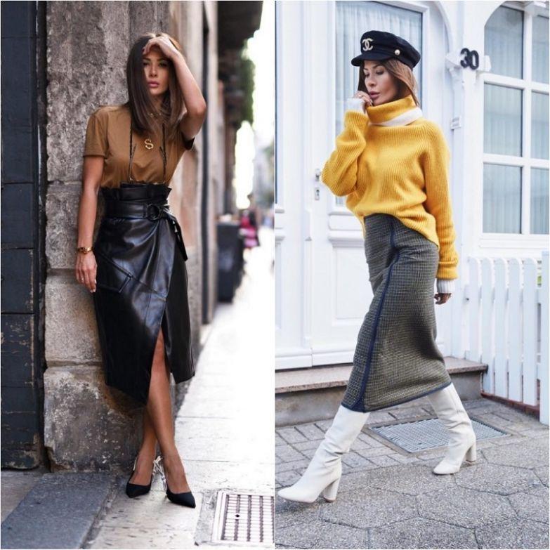 стильные образы 2019