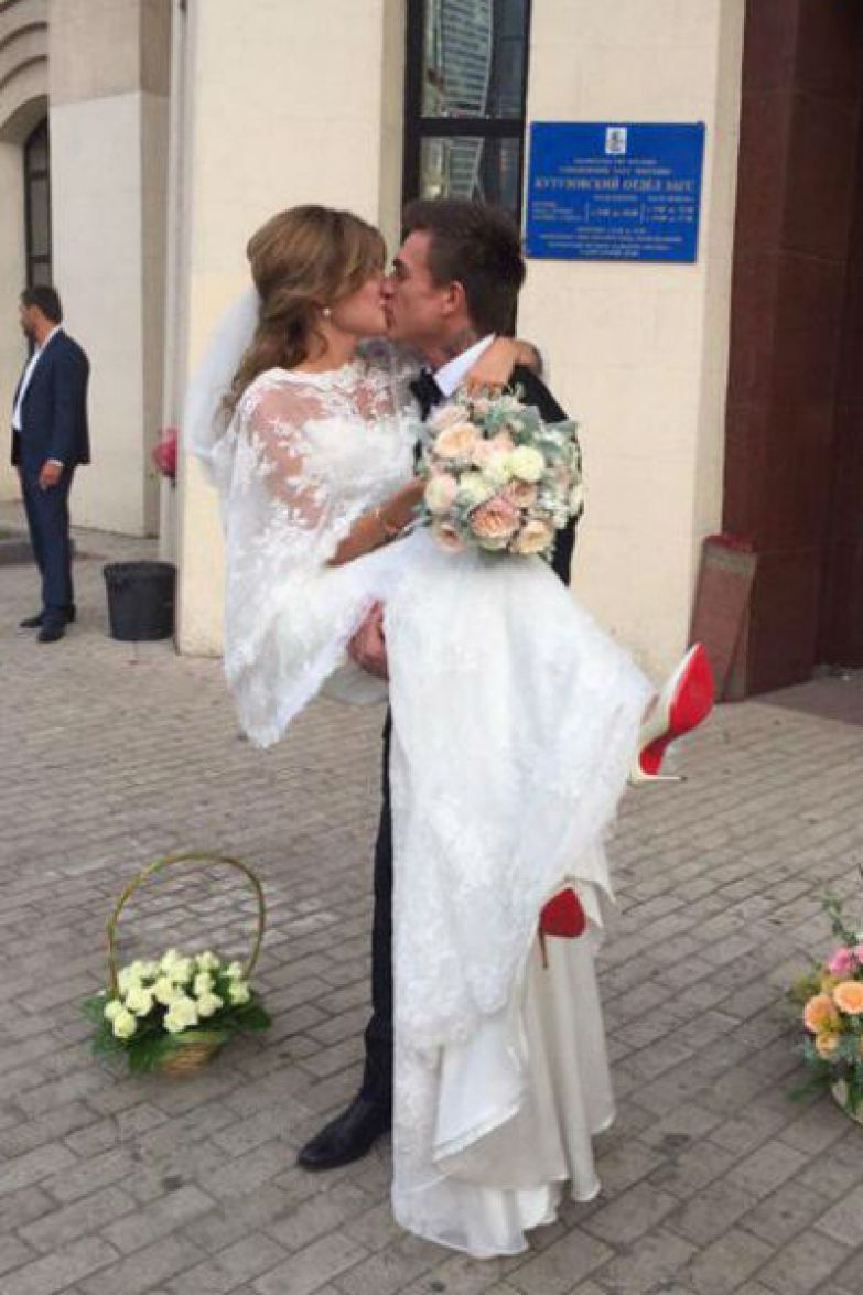 Влад и Ксения поженились в сентябре 2015 года
