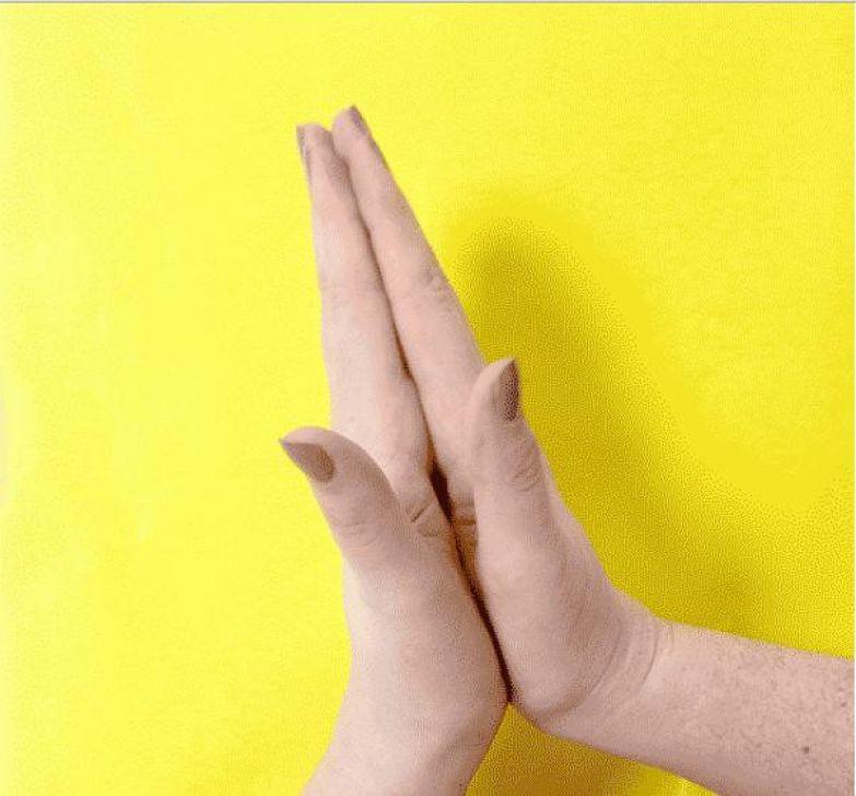 Ладони вместе: беспокойство и кровообращение палец, советы, факты